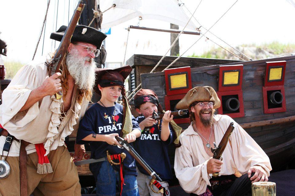 Tybee Pirate Fest Blackbeard Ship